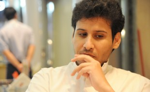 Waleed abu al-Khair, Menschenrechtsanwalt aus Dschidda (Fotografin: Katharina Eglau)